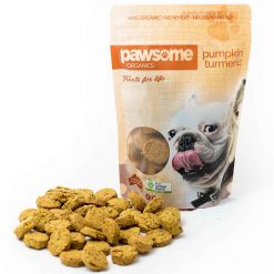 Pumpkin and Turmeric Dog Treats 200g
